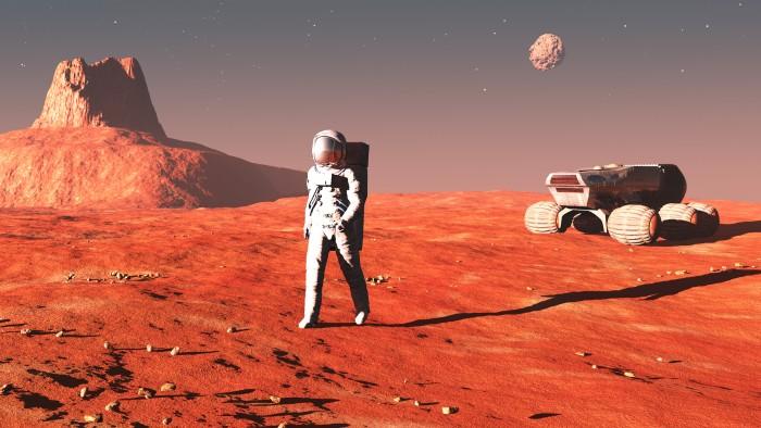 Wir müssen zum Mars! | Foto: © Sergey Drozdov - Fotolia.com