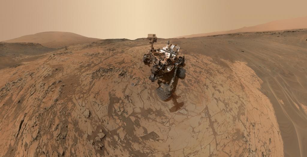 Selfie vom Mars Rover | Credit: NASA/JPL-Caltech/MSSS
